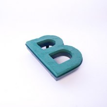 Oasis clip on foam letter B