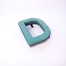 Oasis clip on foam letter D