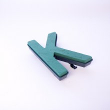 Oasis clip on foam letter K