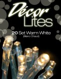 20 battery warm white decor lights
