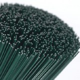 Green Stub Wire 18g x 7""