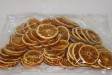 250g dried Orange slices