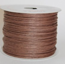 Brown paper covered craft wire 50m