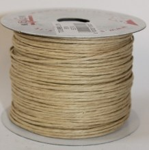 Natural beige paper covered craft wire 50m
