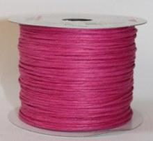 Fuschia paper covered craft wire 50m
