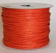Orange paper covered craft wire 50m