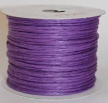 Purple paper covered craft wire 50m
