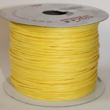 Yellow paper covered craft wire 50m