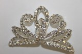 Diamante wedding brooch 6cm