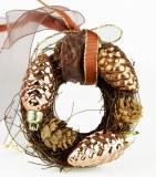 Copper wreath 10cm
