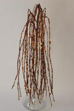 Copper glitter decorative grass, length-90cm