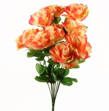 Artificial Rose Bunch x 10 Stems