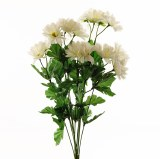 Artificial Daisy Bunch Cream