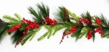 Christmas Garland Berry/ Pine 6ft