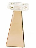 Rose Gold Crystal Candle Holder 9cmx9cmx19cm