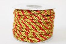 Cord and mesh ribbon