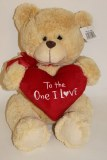 To the one I Love teddy bear 35cm