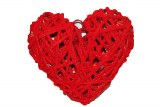 Wicker heart 3D large