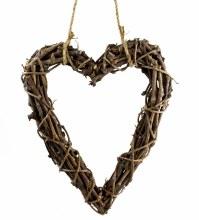 Twig Heart Hanger 40cm x 50cm