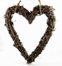 Twig Heart Hanger 60cm x 70cm