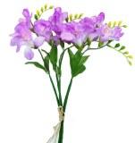 Lavender freesia bundle x 5 stems 35cm
