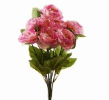 Pale Pink Artificial Ranunculus Bunch x 7 Stems