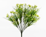 "Artificial Flowers Mixed Blossom Bouquet 18"""