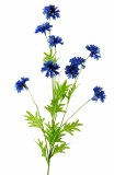 Artificial Cornflower Blue Flower 82cm