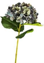 Artificial Hydrangea Stem Lavender/Green 80cm
