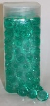 450gr Aqua giant decorative ready made gel pearls