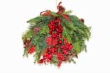 Red berry spruce pommander 45cm