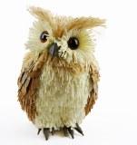 Owl standing 11x10x18cm