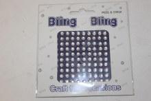 Bling bling clear 4mm
