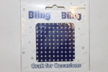 Pearl 3mm bling bling craft stickers