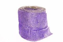 Diamond mesh blue/purple