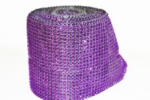 Diamond mesh purple