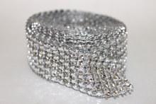 Diamante diamond mesh 6 rows