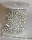 Diamante garland trim