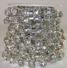 Large diamante jewel roll