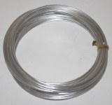 Silver aluminium florist wire 2mm x 100g