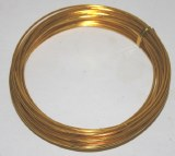 Gold aluminium florist wire 2mm x 100g