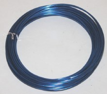 Dark blue aluminium florist wire 2mm x 100g