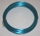 Turqouise aluminium florist wire 2mm x 100g