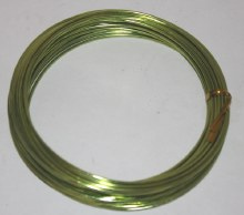 Lime green aluminium florist wire 2mm x 100g