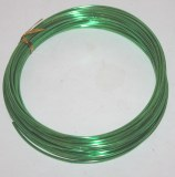 Dark green aluminium florist wire 2mm x 100g