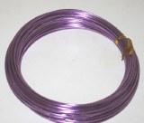 Lilac aluminium florist wire 2mm x 100g