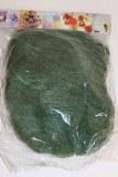 Decorative dark green sisal 100g packet