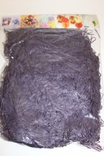 Purple shredded packaging paper 100g