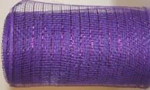 Florist Deco Mesh Purple x 10Yards