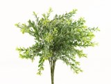Small Leaf Frosted Greenery Bunch x 2 Bunches